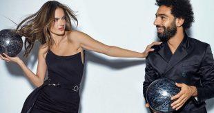محمد صلاح يُثير الجدل بعد صوره مع عارضة أزياء مشهورة…والسبب!
