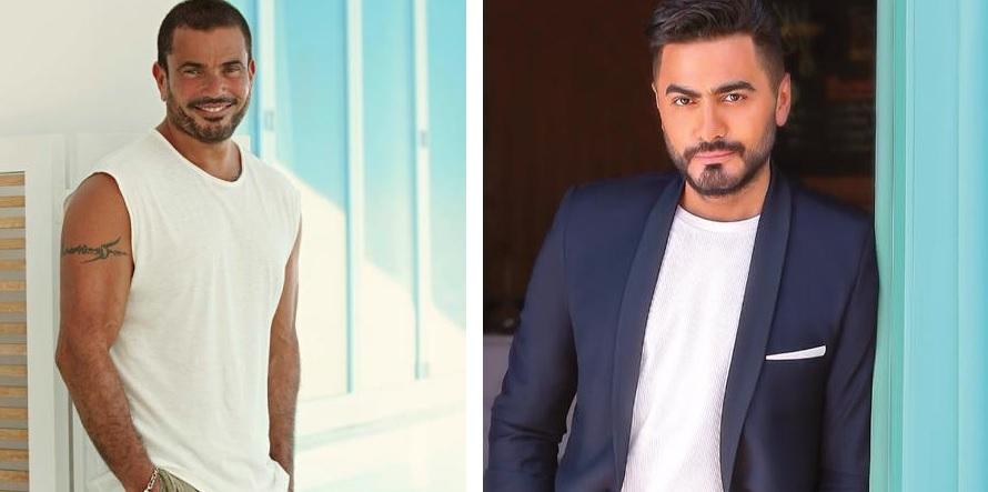 عمرو دياب تامر حسني