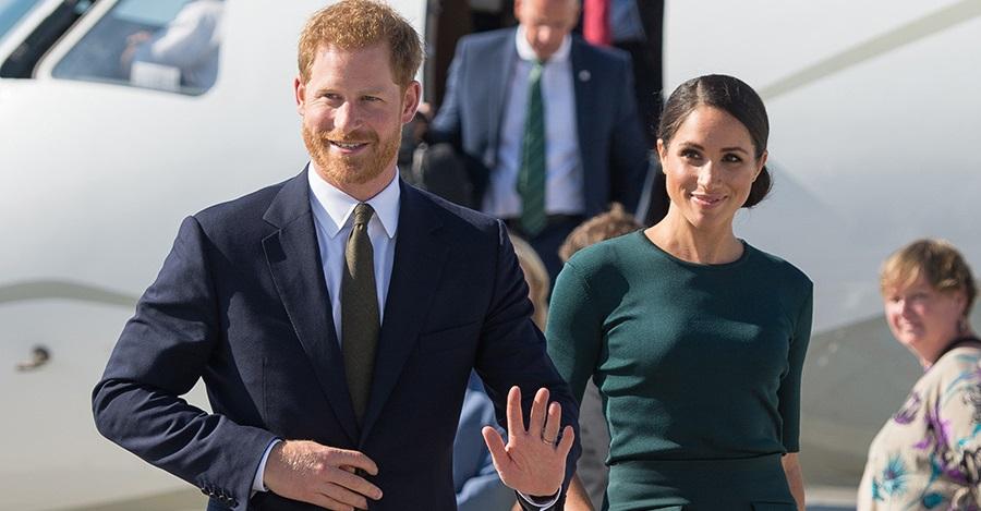 الأمير هاري وزوجته - ميغان ماركل