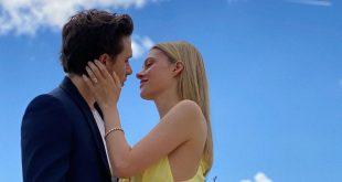 ديفيد بيكهام يحتفل بخطوبة ابنه على هذه الممثلة الأميركية!