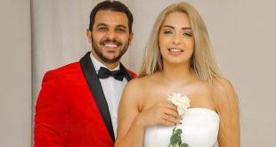 محمد رشاد يصدم زوجته وينفصل عنها عبر وسائل التواصل…قصة حب انتهت كما بدأت!