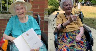 """أنجيلا هوتور:107 أعوام من المقاومة وهزمت الكورونا…والسبب """"برتقالة"""""""